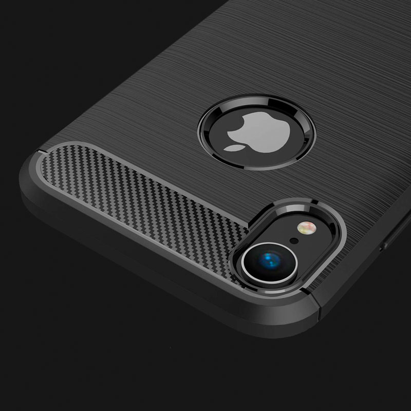 coque iphone xr carbon