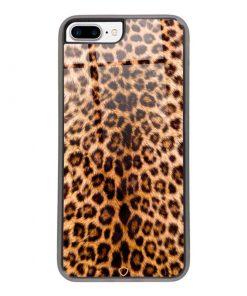 fullprotech-coque-iphone-7-plus-iphone-8-plus-glass-shield-leopard